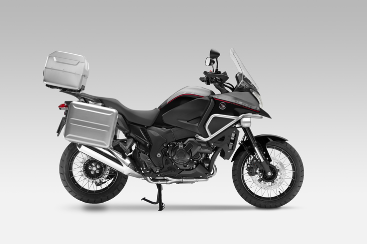 VFR 1200 X 2015 Grigio/Nero Travel Edition